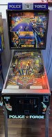 William's Police Force pinball